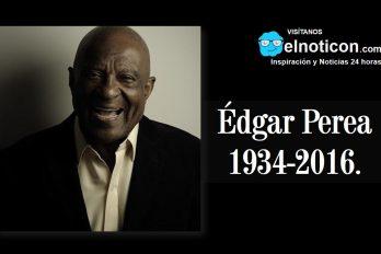 Édgar Perea,1934-2016