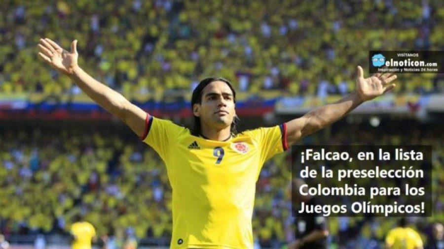 ¿Estás de acuerdo con que Falcao sea convocado para participar en Los Juegos Olímpicos?