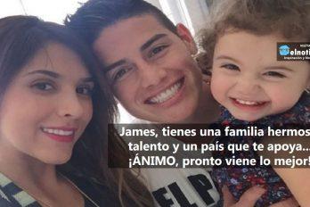 ¡James, siempre contigo!