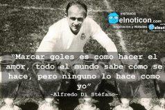 Alfredo Di Stéfano, marcar goles