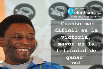 Pelé, la victoria