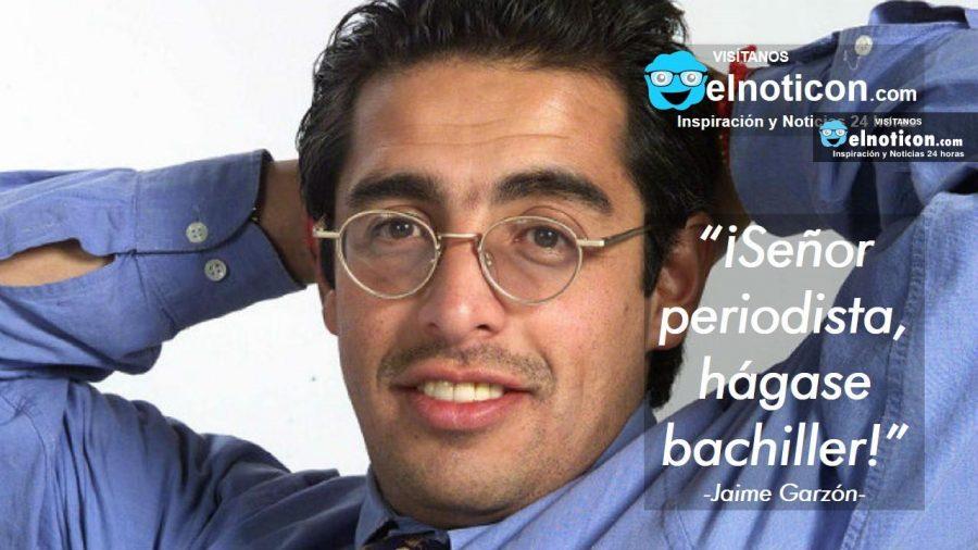 Jaime Garzón, señor periodista