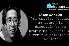 Jaime Garzón, si ustedes jóvenes…