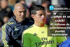 ¡James es un crack!