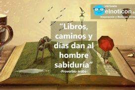 Libros, caminos y días…