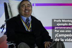 ¡No te olvidamos Profe Montoya!