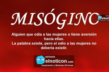 Definición de Misógino