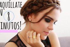 ¿Es posible maquillarte en 8 minutos? Te mostramos cómo hacerlo, quedarás DIVINA