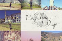 Cuando se enteró que tenía cáncer y decidió visitar las 7 maravillas del mundo ¡en 13 días!