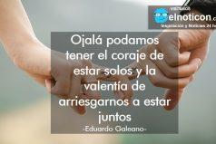 Eduardo Galeano, coraje