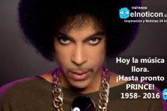 ¡Hasta pronto Prince!