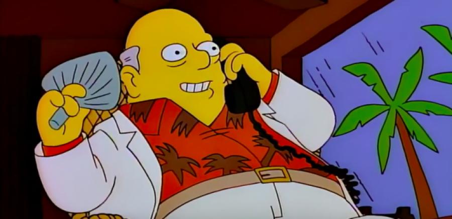 ¿Conoces la predicción de los Simpsons con respecto a 'Los papeles de Panamá'? Hace 20 años sabían lo que pasaría