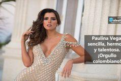 Paulina Vega, representante de la belleza colombiana
