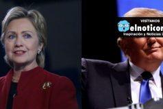 Hillary Clinton y Donald Trump, cara a cara en el primer debate presidencial