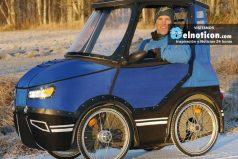 Conoce el PodRide ¡La mezcla perfecta entre carro y bicicleta!