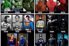 Quedarás sin palabras con la evolución de varios superhéroes y villanos ¡Encantador!