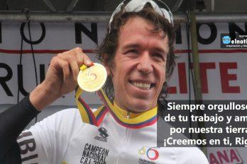 Rigoberto Urán, ¡creemos en ti!