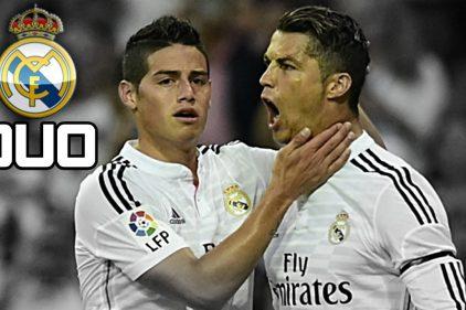 Mira la reacción de Ronaldo ante la caída de James Rodríguez