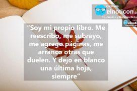 Soy mi propio libro…