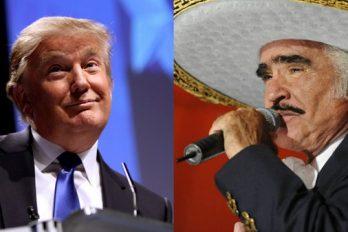 Mira lo que Vicente Fernández piensa hacer el día que vea a Donald Trump ¿Qué opinas?