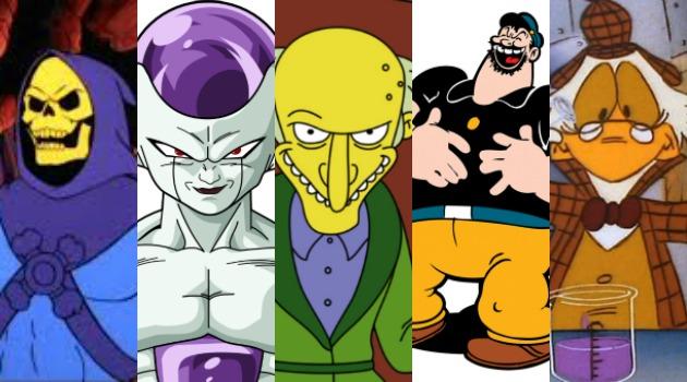 Mejores villanos de caricaturas