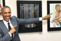 En venta el cuadro de Donald Trump que prohibieron en Estados Unidos