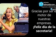 ¡Feliz día de la secretaria!
