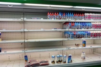 Caracas sufre un desabastecimiento del 82,3 por ciento en alimentos