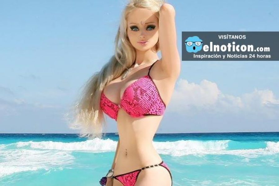 ¿Cómo lucía la 'Barbie humana' antes de iniciar su transformación?
