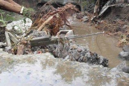 El invierno ya causa estragos en varios municipios del país