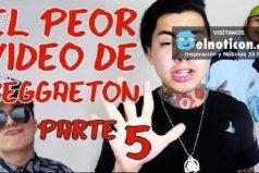 Según el 'youtuber' Nicolas Arrieta, estos son los peores videos de reggaeton