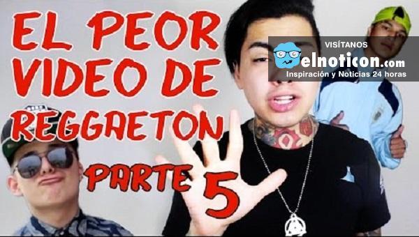 Según el 'youtuber' Nicolas Arrieta, estos son los peores video de reggaeton