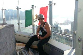 La foto de un mexicano que le da la vuelta al mundo