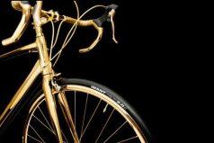 Conoce la bicicleta hecha en oro ¡Todo un lujo!