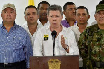 'Clan Úsuga debe someterse a la justicia': Presidente Santos