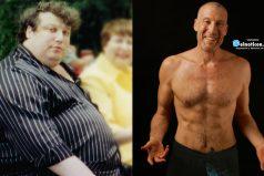 Conoce las 7 cosas que hizo este hombre para bajar 99 kilos ¡Si se puede!