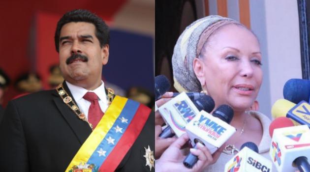 Nicolás Maduro habla con Piedad Córdoba tras atentado