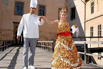 ¡Los 15 vestidos de novia más locos del mundo! ¿Usarías alguno?