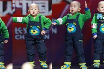 Niño chino de tres años que baila lo que le pongan 'literal' ¡Quedarás enamorad@ con su baile y ternura!
