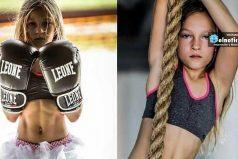 Esta niña de 9 años superó una carrera de obstáculos hecha por militares