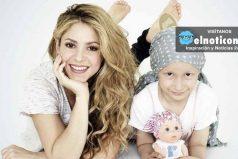 Shakira se solidariza y ayuda a los niños con cáncer