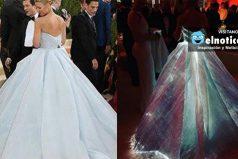 El vestido de Claire Danes, amado y odiado por la misma razón