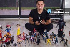 Se divierte como un niño chiquito: Hassam nos muestra su colección de juguetes