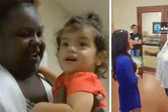 Una mamá descubre cómo la niñera trata a su hija. Ahora, mira el sobre blanco que tiene en su mano