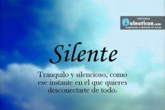 Definición de Silente
