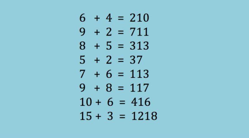 Prueba matemática de inteligencia