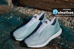 Estas son las primeras zapatillas hechas con basura del mar y una impresora 3-D