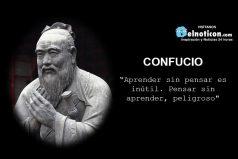 """""""Aprender sin pensar es inútil…"""