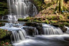 Hermosas y ocultas cascadas en Inglaterra