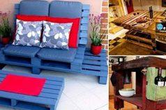 Reciclado de palets: ideas para tu hogar